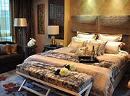 奢华时尚别墅主卧室装修效果图