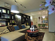 温馨中式风格三居室装修效果图