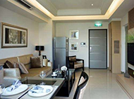 88平米小户型公寓现代简约装修效果图
