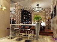 精美绝伦的厨房吧台装修效果图