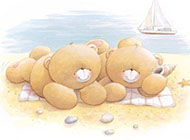 泰迪熊精美可爱动漫图片