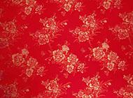 婚庆红色花纹背景图片大全布幔