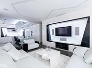 奢华科技感十足大户型公寓设计