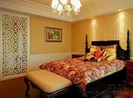 精美时尚卧室隔断装修效果图
