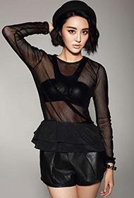 中国女星甘露透明诱惑写真