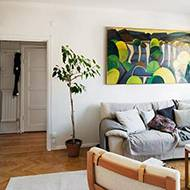 一居室简约舒适蜗居生活演绎英伦风情