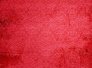 背景图片复古风格红色带花纹