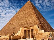 著名名胜古迹埃及金字塔高清图片