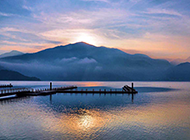 我国宝岛台湾日月潭风景图片