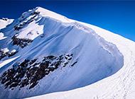 梦幻般的雪山美景图片欣赏