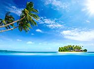 梦境般唯美的海岛高清景色图片