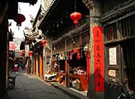 湖南湘西凤凰古城街道图片