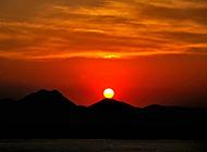 唯美伤感的夕阳落日风景图片