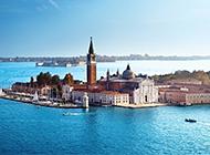 唯美的意大利威尼斯水城风景图片