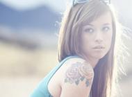 欧美范性感美女纹身头像合集
