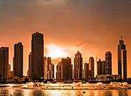 唯美的香港城市夜景图片欣赏