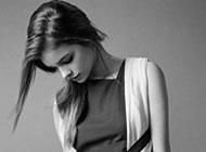欧美女生时尚经典黑白头像