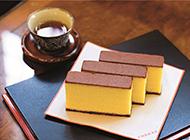 日本西点长崎蜂蜜蛋糕图片