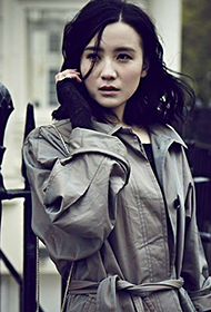 中国女明星小宋佳时尚街拍图片