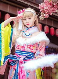 古装南小鸟cosplay图高清摄影