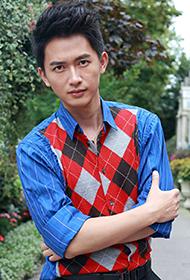 吕聿来秋日前卫时尚街拍写真