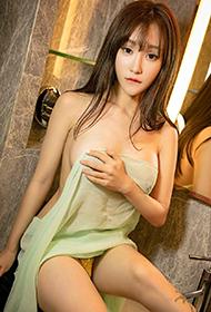 尤果网性感美女顾籼透明薄纱人体艺术照