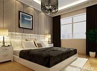 欧式风格带阳台卧室装修效果图