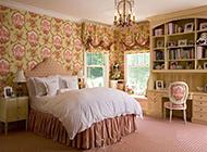 温馨唯美的田园卧室装修图片