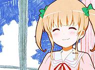 超萌日系风动漫素描头像图片