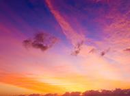 优雅唯美的大自然黄昏美景图片