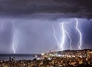 超震撼破空的闪电高清图片