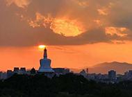京城唯美日出图片欣赏