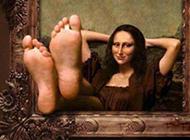 最新蒙娜丽莎PS恶搞图片