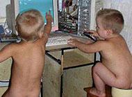 搞笑儿童图片之裸聊