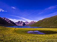唯美的青海山脉风景图片赏析