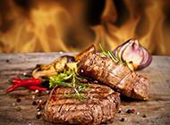 好吃的韩式烤肉实拍图片