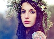盘点欧美性感美女纹身头像合集