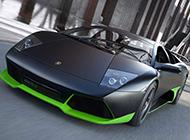 全球限量版兰博基尼蝙蝠跑车图片