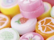 高清彩色糖果ppt背景图片