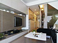 时尚小型公寓装修效果图