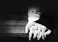 抽象黑白艺术爱情背景图片素材