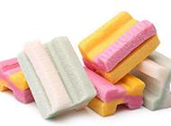 彩色的减肥口香糖图片