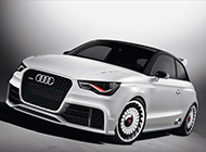 奥迪A1概念车高清摄影图片