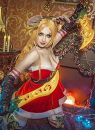 卡特琳娜英雄联盟cosplay图片