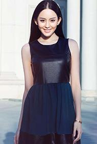 古力娜扎最新时尚街拍图片