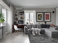 小户型客厅北欧装修风格效果图