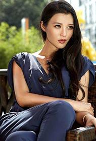 演员白庆琳时尚写真图片