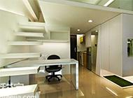 现代简约公寓复式装修效果图