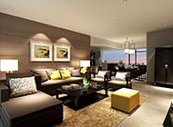 温馨的现代北欧简约客厅装修效果图