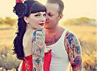 超时尚个性的情侣纹身头像